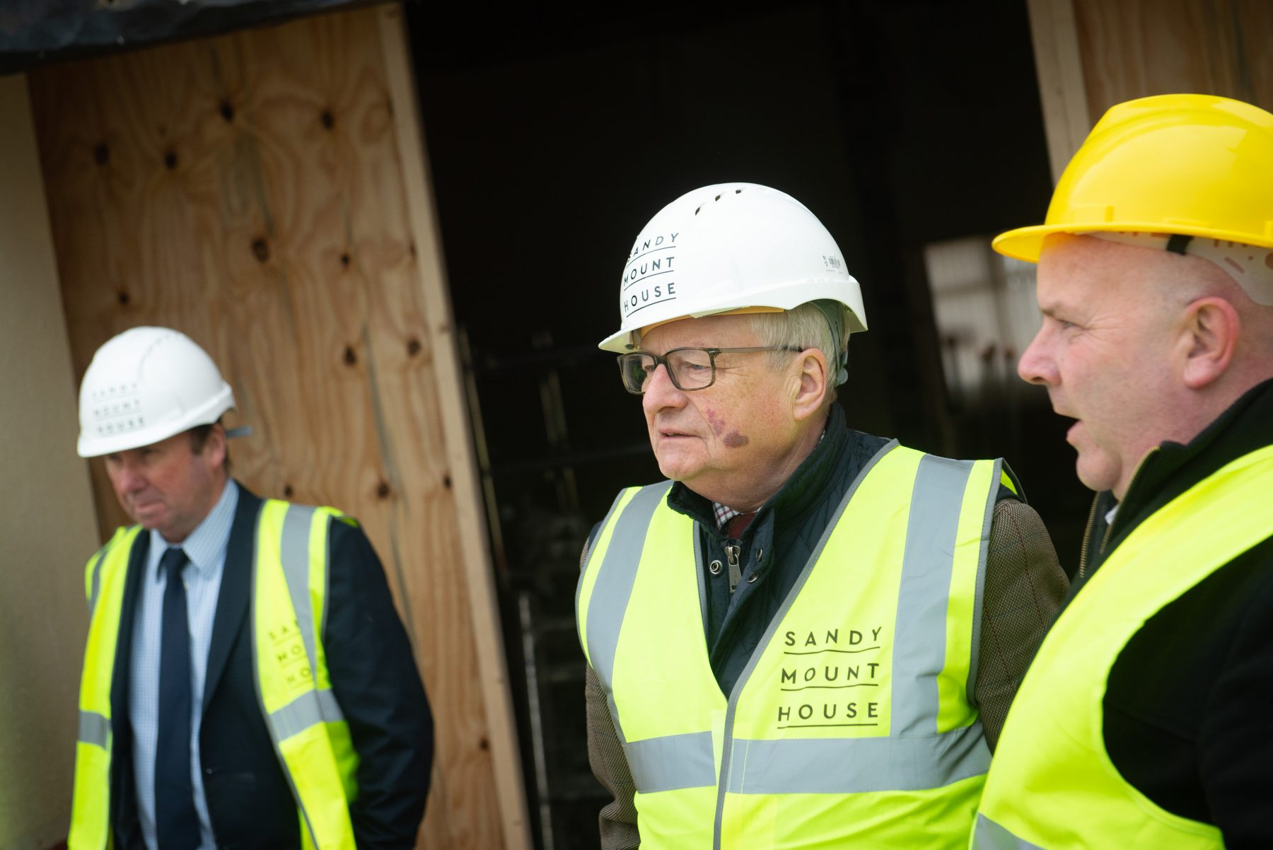 Build gets underway with a visit from Tourism Minister