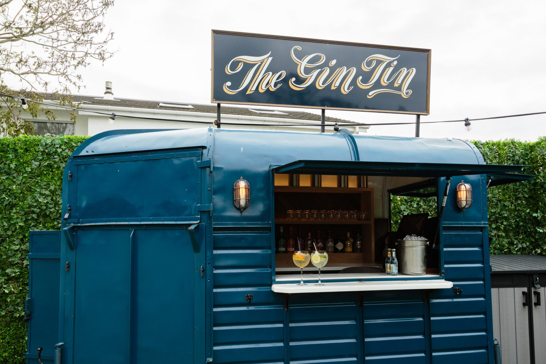 The Gin Tin is open!